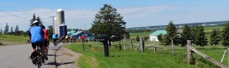 Berthier-sur-Mer : Rando pour plaisancier du vélo